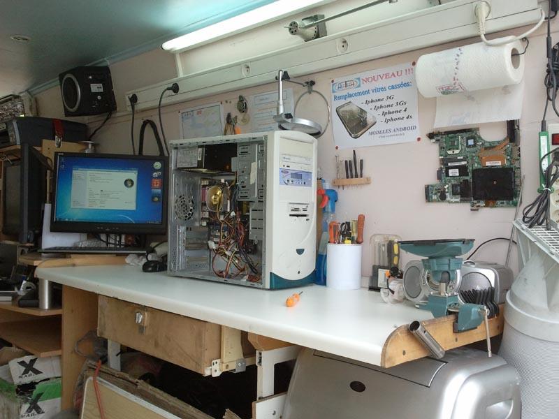 d pannage informatique b ziers 34500 en atelier mobile hectech r paration ordinateur pc. Black Bedroom Furniture Sets. Home Design Ideas